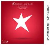 star   vector icon | Shutterstock .eps vector #434482834