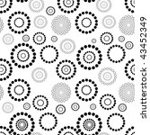 seamless vector texture with... | Shutterstock .eps vector #43452349