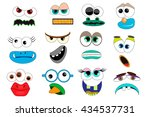 party for children   funny... | Shutterstock .eps vector #434537731