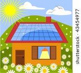 solar panel | Shutterstock .eps vector #43454977