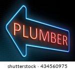 illustration depicting an... | Shutterstock . vector #434560975