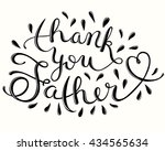 greeting card template for... | Shutterstock . vector #434565634