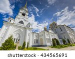 assumption cathedral at... | Shutterstock . vector #434565691