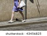 city walk | Shutterstock . vector #43456825