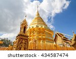 wat phra that doi suthep ... | Shutterstock . vector #434587474