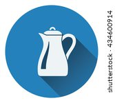 glass jug icon. flat design....