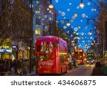 london  uk   december 30  2015  ... | Shutterstock . vector #434606875