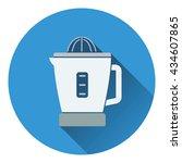 citrus juicer machine icon....