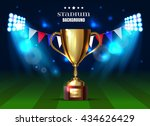 soccer cup  euro 2016 france ... | Shutterstock .eps vector #434626429