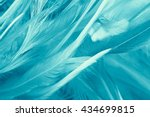 green turquoise vintage color... | Shutterstock . vector #434699815