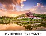 chiang mai  thailand at royal... | Shutterstock . vector #434702059
