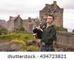 dornie  scotland   august 24 ... | Shutterstock . vector #434723821