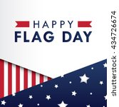 Flag Day Background Template....