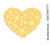 picture of the heart of... | Shutterstock .eps vector #434749777