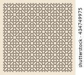 seamless islamic background.... | Shutterstock .eps vector #434749975