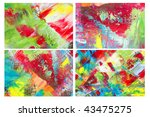 abstract background collage | Shutterstock . vector #43475275