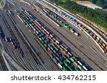 switching yard   Shutterstock . vector #434762215