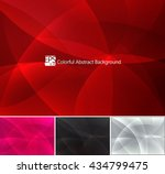 colorful abstract background | Shutterstock .eps vector #434799475
