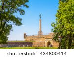 the victor monument at... | Shutterstock . vector #434800414
