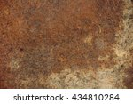 old rusty and corrosive sheet... | Shutterstock . vector #434810284