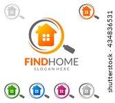 real estate vector logo design  ... | Shutterstock .eps vector #434836531
