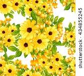 abstract elegance seamless... | Shutterstock .eps vector #434855245