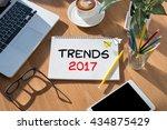 trends 2017 | Shutterstock . vector #434875429
