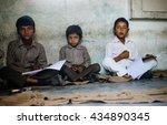 orcha march 09 children posing...   Shutterstock . vector #434890345