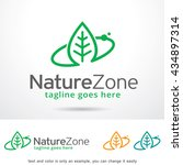 nature zone logo template... | Shutterstock .eps vector #434897314