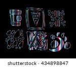 different style design elements | Shutterstock .eps vector #434898847