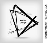 Hand Drawn Triangle Shapes. ...