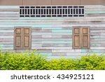 vintage window  northeast of... | Shutterstock . vector #434925121