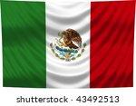 national flag mexico | Shutterstock . vector #43492513