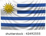 national flag uruguay | Shutterstock . vector #43492555