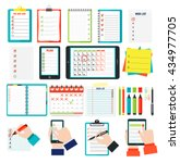Agenda List Concept Vector...