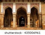 ali isa khan tomb at the... | Shutterstock . vector #435006961