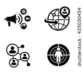 business vector icons | Shutterstock .eps vector #435030454