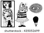 weirdos random illustrations ...