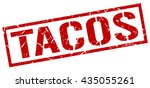 tacos stamp.stamp.sign.tacos. | Shutterstock .eps vector #435055261