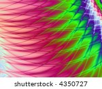 bright pink  purple and green... | Shutterstock . vector #4350727