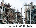 indutrial complex system... | Shutterstock . vector #435119494