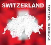 switzerland. abstract swiss...   Shutterstock .eps vector #435121681