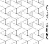 linear seamless pattern. subtle ... | Shutterstock .eps vector #435138949