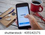 bangkok thailand   june 11 ... | Shutterstock . vector #435142171