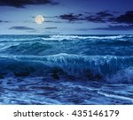 close up of huge  green and...   Shutterstock . vector #435146179