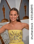 Small photo of LOS ANGELES, CA - FEBRUARY 28, 2016: Alisa Vickander at the 88th Academy Awards at the Dolby Theatre, Hollywood.