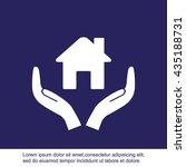 house vector icon  | Shutterstock .eps vector #435188731