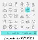 set of premium quality line... | Shutterstock .eps vector #435215191