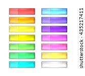 vector web buttons set | Shutterstock .eps vector #435217411