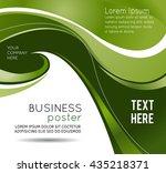 stylish presentation of... | Shutterstock .eps vector #435218371